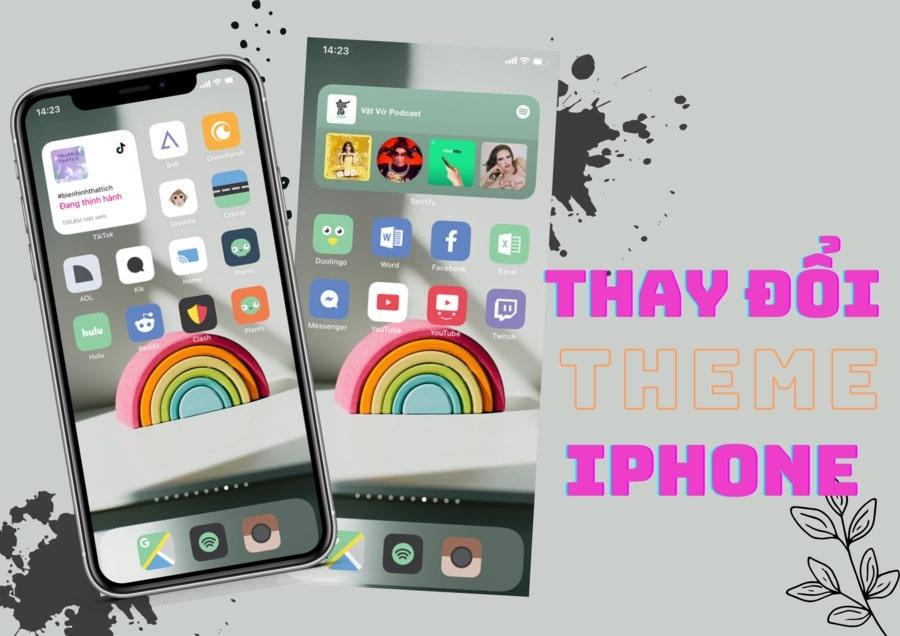 Hướng Dẫn Thay Đổi Theme iPhone Chỉ Cần Vài Thao Tác Đơn Giản
